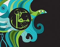 Mekaal Hasan Band – T shirt Illustration