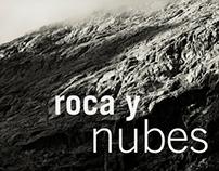 Roca y nubes