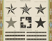 Wood Type Star Ornaments & Borders