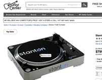 Guitar Center Product Detail Page