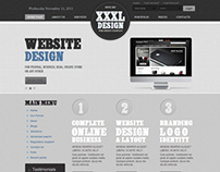 XXXL Design Web Studio Joomla Template