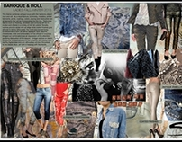 sportswear/casual wear moodboards and sketches