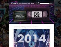 Website for The Incredibly Strange Film Night