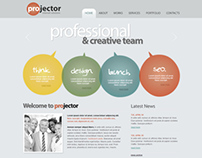 Pro Jector Web Solution Joomla Template