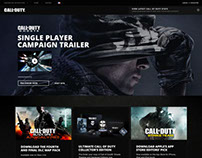 Call of Duty Interactive Designs