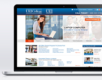 UEI College - Website Redesign