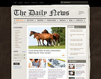 The Daily News NewsPaper Joomla Template
