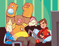 BRAVEST WARRIORS Variant Cover