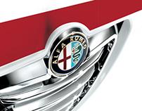Alfa Romeo Info Mobile App - DEM Layout