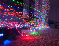 Long Exposure X-mas Lights