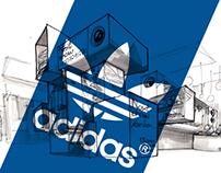 Adidas Original 2012 - Shop concept