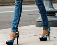 Nailah Sanaa Shoe Campaign
