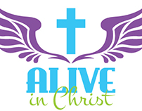Alive in Christ Tee Shirt Design