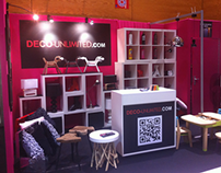 Conception stand e-business Deco-Unlimited - Amenago