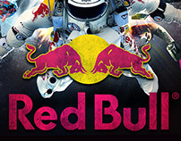Various Red Bull Artwork