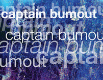 """Captain Bumout"" Type Specimen Booklet"