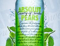Absolut Vodka 'Pear' Advertisement