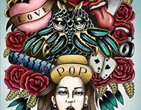 Viva Magazine Cover Design - Editorial illustration