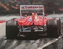 Felipe Massa - Ferrari Spanish GP 2013