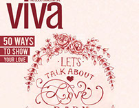 Viva Magazine Cover - Editorial Illustration