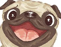 Pug character