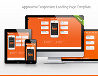 Appreative Responsive Landing Page Template