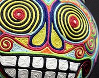 Dunny Calaca - Caracas Art Toys Expo MIAMI