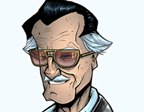"""Origins"" Stan Lee SDCC Print"