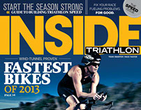 Inside Triathlon magazine Covers