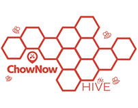 ChowNow Building Decals