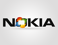 Nokia & Microsoft logo concepts