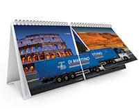 Dual Flip Desk Calendar