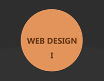 Web design portfolio I