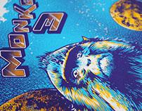 Monkey 3 poster tour 2013