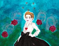 Mother Queen Carolina Herrrera