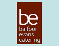 Balfour Evans Catering Brand Identity