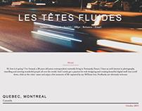 Les Têtes fluides - personal website