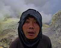INDONESIA -Kawah Ijen volcano