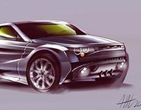 City Range Rover Evoque concept car
