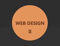 Web design portfolio II