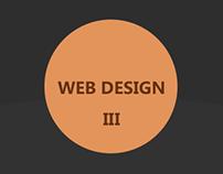 Web design portfolio III