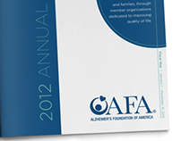 Alzheimer's Foundation of America 2012 Annual Report