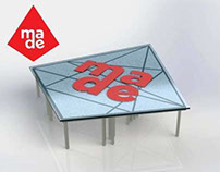W&M - Made Advertising - Mulit-purpose table design