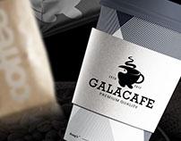 Galacafe Logo Branding.