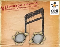 VI semana por la memoria CNMH