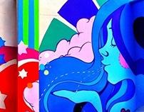 Eye Candy Festival Street Art Mural