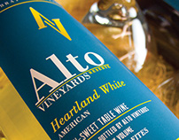 Alto Vineyards 20th Anniversary Reserve Packaging