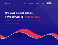 Nexus Homepage