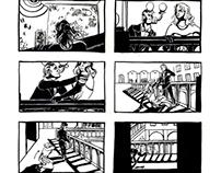 Storyboards: Noir & Horror Script