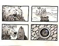 Storyboarding: Fishy Love